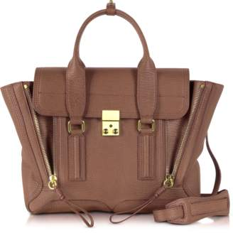 3.1 Phillip Lim Taupe Leather Pashli Medium Satchel Bag