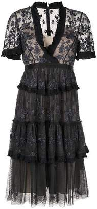 Needle & Thread Fortuny lace dress