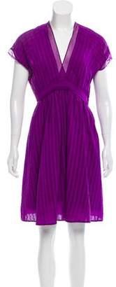 Balenciaga Silk Knee-Length Dress