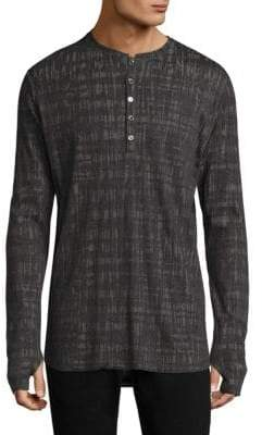 Twenty Knitted Shirttail Henley