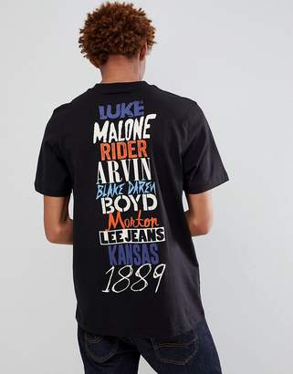 Lee jeans band t-shirt