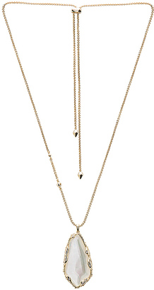 Kendra Scott Zayne Necklace in Metallic Gold. $110 thestylecure.com