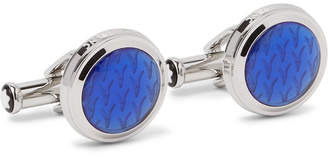 Montblanc Le Petit Prince Stainless Steel Resin Cufflinks