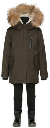 Mackage TOBEE UNISEX TWILL PARKA WITH HOOD