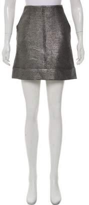 Diane von Furstenberg Katinko Metallic Skirt