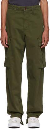 Acne Studios Green Loose Cargo Pants