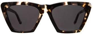 Illesteva Lisbon White Tortoise Sunglasses