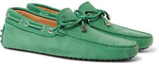 Tod's Gommino Full-Grain Nubuck Driving Shoes