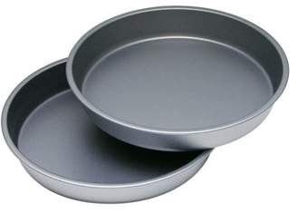 "OvenStuff 9"" Round Cake DuraGlide Plus Pan Set (Set of 2)"