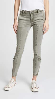 Blank Utility Pants with Zips