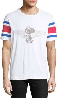 Iceberg Men's Peanuts Snoopy Flight Graphic T-Shirt