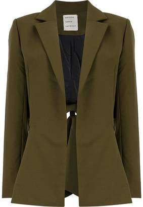 Maison Rabih Kayrouz cut out blazer