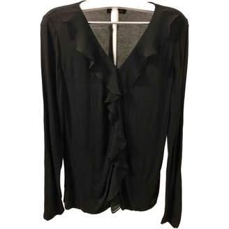 Jaeger Black Cotton Top for Women