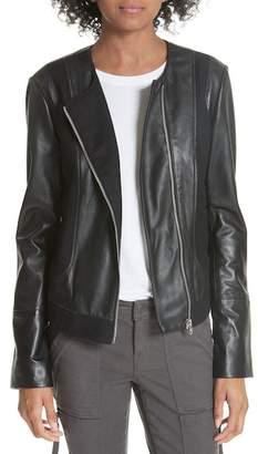 Joie Morina Lambskin Leather Jacket