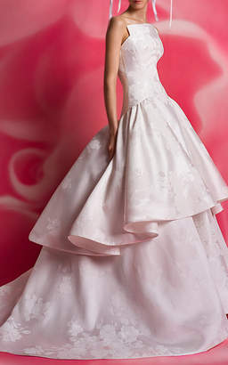 Isa Belle Isabelle Armstrong Charleston Tiered Gown