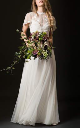 Temperley London Bridal Valentina Illusion Lace Dress