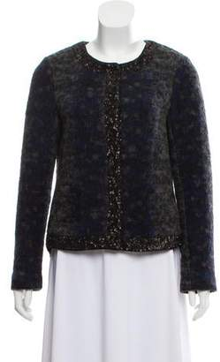 Gryphon Sequined Wool Jacket