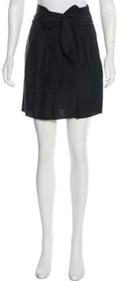 Nellie Partow Silk Mini Skirt w/ Tags