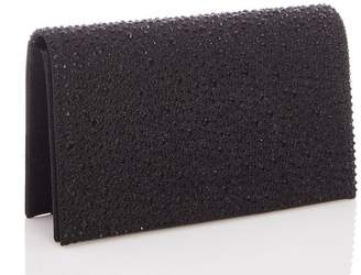Quiz Black Jewel Clutch Bag