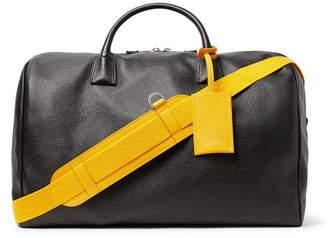 Maison Margiela Full-Grain Leather Holdall - Black