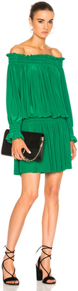 Norma Kamali Peasant Dress $185 thestylecure.com