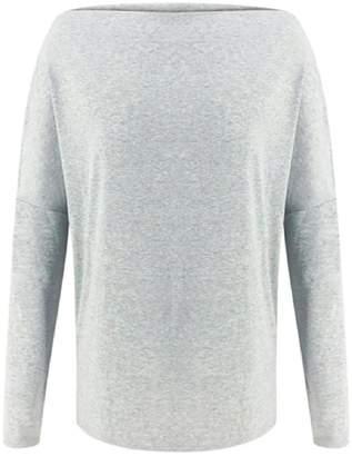 Goodnight Macaroon 'Orla' Zipped Shoulder Detail Sweater