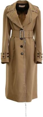 Marni Tropical Wool Trench Coat