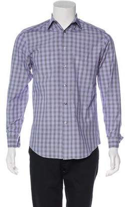 Paul Smith Gingham Dress Shirt