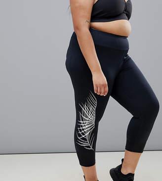 Asos Rainbeau Curve Nicole Capri Leggings