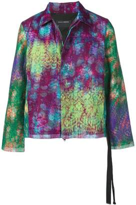 Craig Green concealed zip jacket