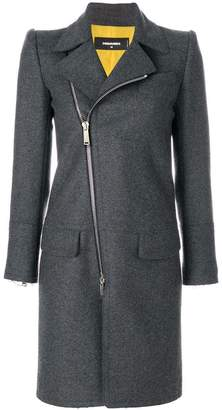 DSQUARED2 zipped coat