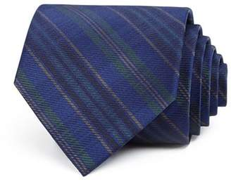 Bloomingdale's The Men's Store at Seasonal Black-Watch Plaid Silk Classic Tie - 100% Exclusive