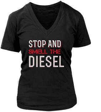 Diesel District Shirts V-Neck T-Shirt (2XL)