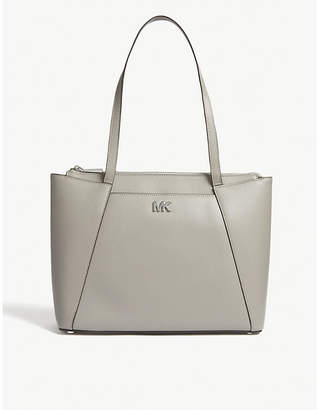 MICHAEL Michael Kors Maddie medium grosgrain leather tote