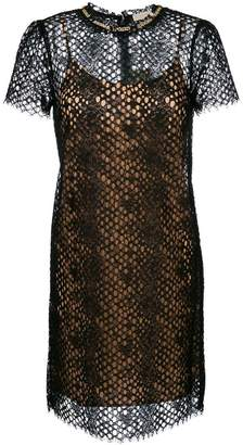MICHAEL Michael Kors embellished lace dress