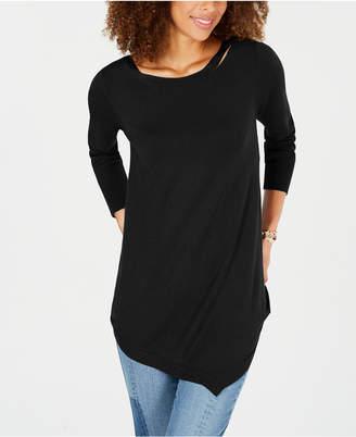 Love Scarlett Petite Asymmetrical Sweater