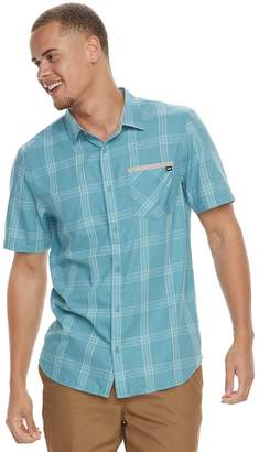 Vans Men's Prapper Plaid Button-Down Shirt