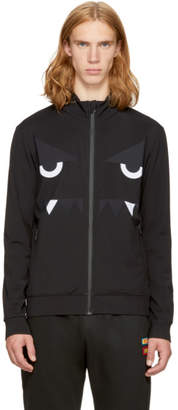 Fendi Black Bag Bugs Track Jacket
