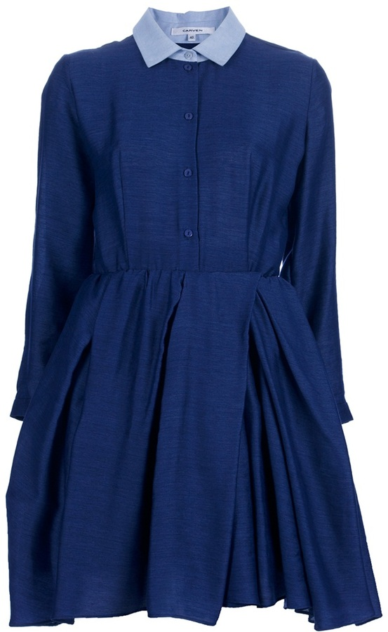 Carven Shirt dress