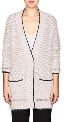 Lanvin Women's Angora-Blend Oversized Cardigan