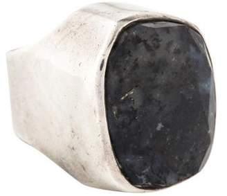 Rebecca Collins Dalmatian Cocktail Ring