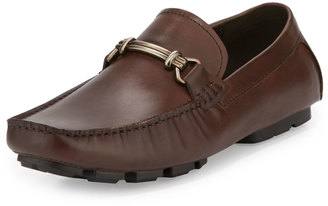 Kenneth Cole Perfect Type Horsebit Leather Loafer, Brown $129 thestylecure.com