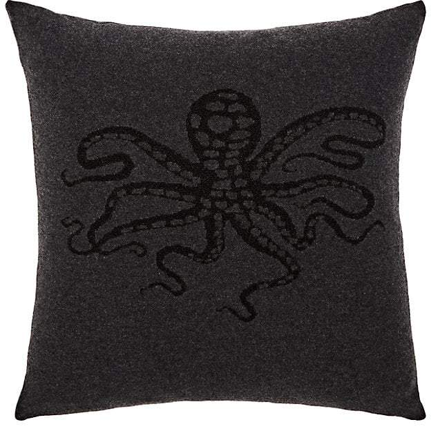 Rani Arabella Glitter Octopus Cashmere Pillow