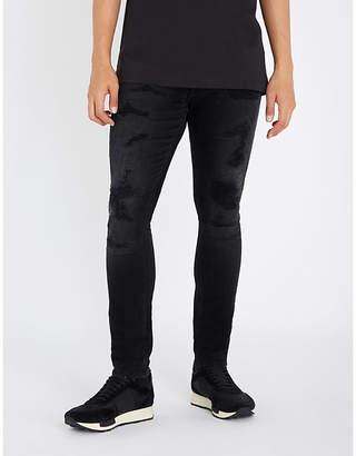 Tommy Hilfiger Distressed slim-fit skinny jeans