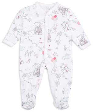 Livly Girls' Bunny Princess Land Print Footie - Baby