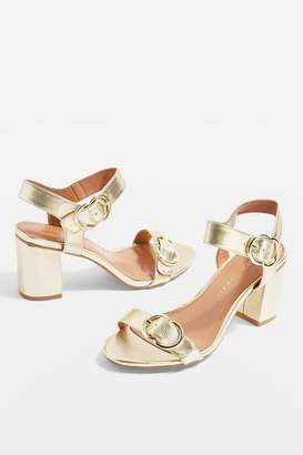 Topshop **Wide fit Samba Two Part Sandals