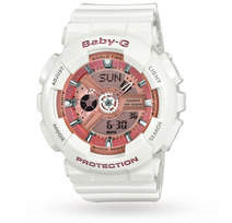 Baby-G Ladies Alarm Chronograph Watch BA-110-7A1ER