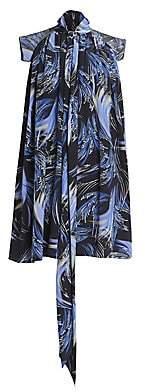 Givenchy Women's Draped Silk Dress
