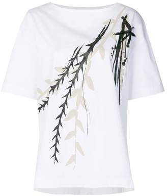 Alberta Ferretti abstract print T-shirt