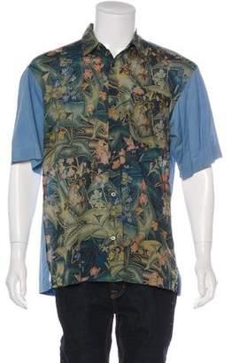 Dries Van Noten Floral Woven Shirt